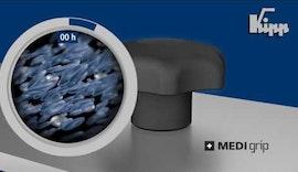 KIPP MEDI grip Produkte für höchste Hygieneanforderungen
