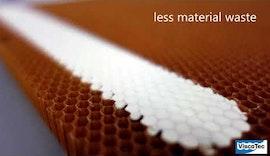 ViscoTec Luft- und Raumfahrt: Füllung industrieller Wabenkörper / Honeycomb potting
