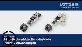 RJ45 Steckverbinder Ethernet