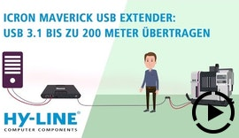 USB 3.1 bis zu 200m übertragen: Icron Maverick USB-Extender
