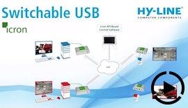 SwitchableUSB: USB Extender Switching via LAN