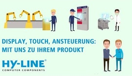 Display, Touch, Ansteuerung: mit uns zu Ihrem Produkt - Industrielle Touch-Systemlösungen