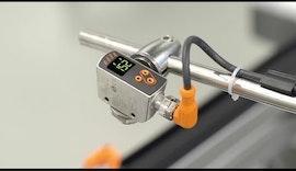 Präziser PMD Abstandssensor zur mm-genauen Messung von ifm