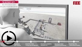 Virtuelle Inbetriebnahme, MES, ERP und mehr – Software for Industry by F.EE