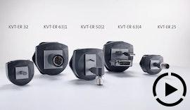 Teaser: IP66/ IP68 Kabelverschraubung für Leitungen mit Stecker KVT-ER