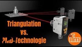Präzise ifm #Laser- #Abstandssensoren mit PMD-Technologie