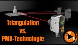 Präzise ifm Laser- Abstandssensoren mit PMD-Technologie