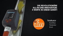 Revolutionäre All-in-One Innovation: ifm Druckluftzähler
