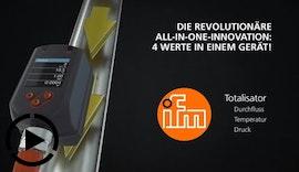 Revolutionäre All-in-One #Innovation: ifm #Druckluftzähler