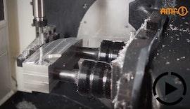 Modulares Nullpunktspannsystem von AMF - Effiziente und rüstzeitoptimierte 5-Seiten-Bearbeitung