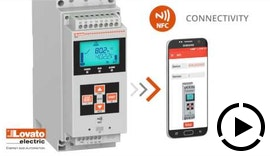 ADXL Soft-Motorstarters mit NFC Technologie