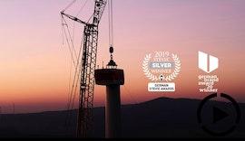 Bau einer Windenergieanlage | Dokumentation
