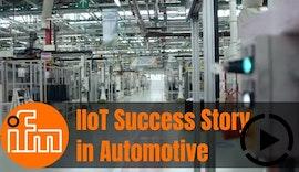 ifm Industrie40 Lösungen für zustandsorientierte Wartung im FCA Werk in Verrone