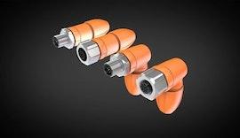 M12-konfektionierbare Stecker für Werkzeugmaschinen und Fabrikautomation