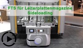 FTS für Leiterplattenmagazine - Sideloading