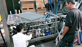 Wie ifm die Firma NEREUS bei der Schmutzwasseraufbereitung unterstützt
