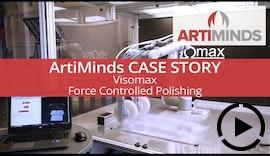 Best Practice: kraftgeregeltes Polieren mit Robotern bei Visomax Coating