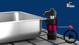 Bearbeiten von Bauteilen ohne Vibrationen und Durchbiegungen? – Mit dem KIPP Schwimmspanner ist das kein Problem!