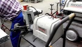 Rohrbearbeitung bei WIEDEMANN