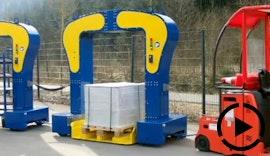 Materialflussmanagement (MFM) mit neuem Routenzugkonzept: Rollcart Routenzug Inlatebrücke