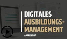 APPRENTIO // Digitales Ausbildungsmanagement