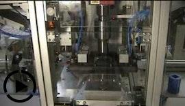 Halbautomatischer Ultraschallschweißautomat