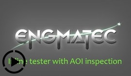 Inline tester with AOI inspection