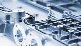 Dosieren einer Dichtung für die Leistungselektronik im Elektromotor