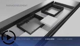 Schalungsprofile zur Herstellung von Fassadenelementen