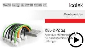 Robuste Kabeldurchführung KEL-DPZ 24 mit Schutzart IP66 - spart Zeit, Platz und Kosten!