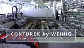 Der WEINIG Conturex bei der Von EUW Fenster AG in der Schweiz