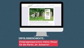Zielgruppengerechte Online-Shops für die Marke Dr.Schaette