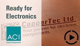 Kontrastreiche Lasermarkierung von Kupfer
