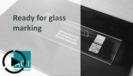 Laserbeschriftung von Glas