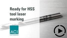 Werkzeugbeschriftung mittels Laser
