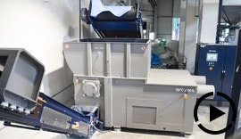 Big Bag Zerkleinerung für die Granulatherstellung (WEIMA WLK 1500)