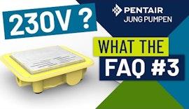 What The FAQ 3: Der Plancofix hat einen 230V Stromanschluss. Ist das in der Dusche nicht verboten?