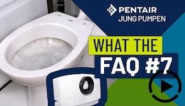 What The FAQ 7: Warum darf man an einen WCFIX keine Waschmaschine anschließen?