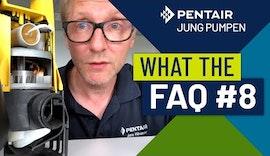 What The FAQ 8: Warum pumpt die Tauchpumpe nicht ab, wenn ich sie ins Wasser stelle und einschalte?
