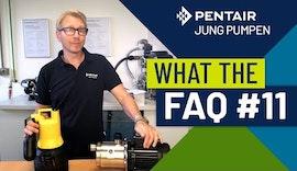 What The FAQ 11: Kann ich meine Schmutzwasserpumpe zur Gartenbewässerung aus der Regentonne nehmen?