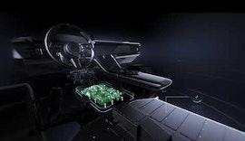 Elektrischer Sportwagen mit Preh 800 Volt Spannungswandler