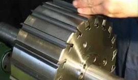 Einfache Montage Hobelmesser im Hobelkopf mit Hydrospannung