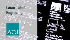 Lasergravur von Labels mit Beschriftungslaser