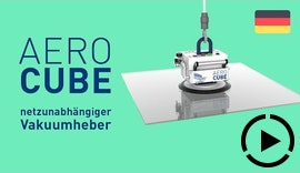 AERO-LIFT | AERO-CUBE kompakter Vakuumheber ohne Strom #Schlauchheber #netzunabhängig #ohnestrom