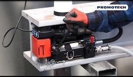 PRO 35 ADA ATEX | Pneumatischer Magnetbohrer für Arbeiten in explosionsgeschützten Umgebungen