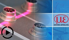 Laser-Profilmessung / Laser profile measurement
