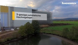 Jungheinrich als Generalunternehmer: Das neue Hochregallager der Firma Sauer