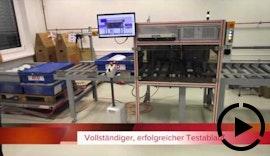 Prüfsystem für KFZ-Spiegelversandboxen
