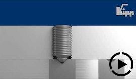 KIPP Federndes Druckstück – kleines Produkt mit großer Wirkung