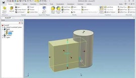Basic Part Creation in IRONCAD